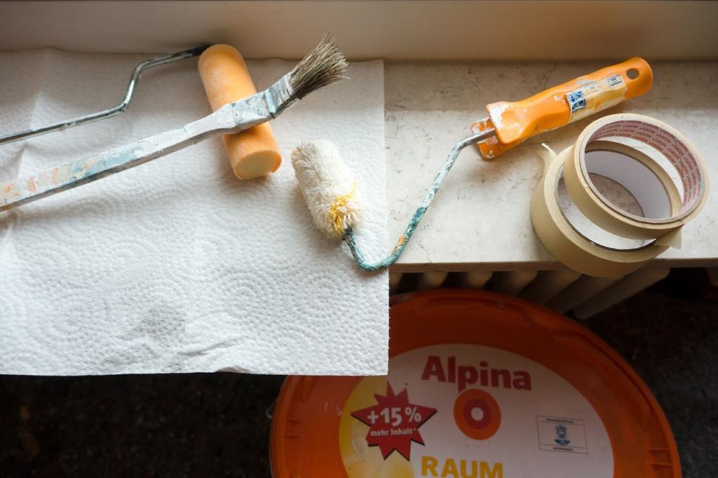Przygotowania do remontu